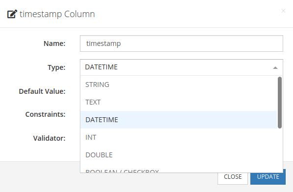 Backednless schema editor